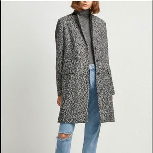 J.Crew Donegal Top Coat in Herringbone wool size 4